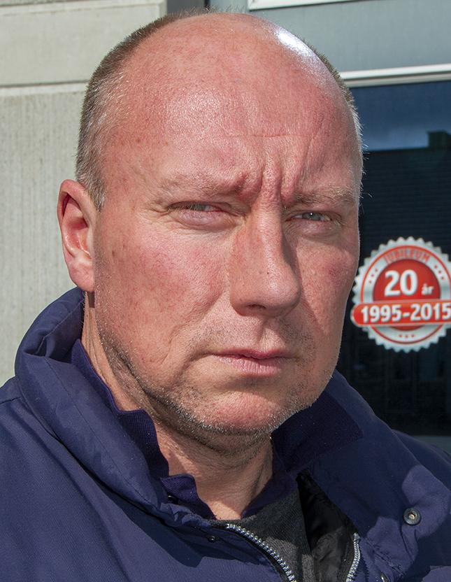 Donald Pilblad började sin yrkeskarriär som bärgare i Eslöv. Idag konstaterar han att cirkeln är sluten.