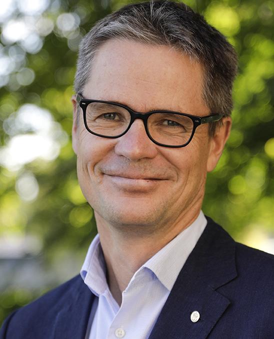 Sven Hunhammar, miljödirektör, Trafikverket. Foto: Elin Gårdestig