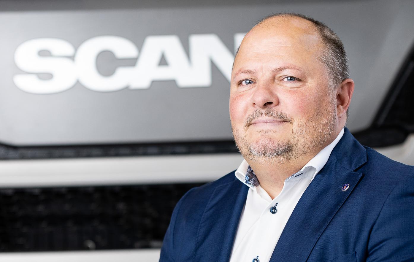 Jon Segersten, servicemarknadsdirektör på Scania Sverige. Foto: Scania
