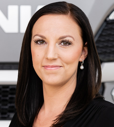 Jennifer Erdtman, kommunikationschef för Scania Sverige. Foto: Scania