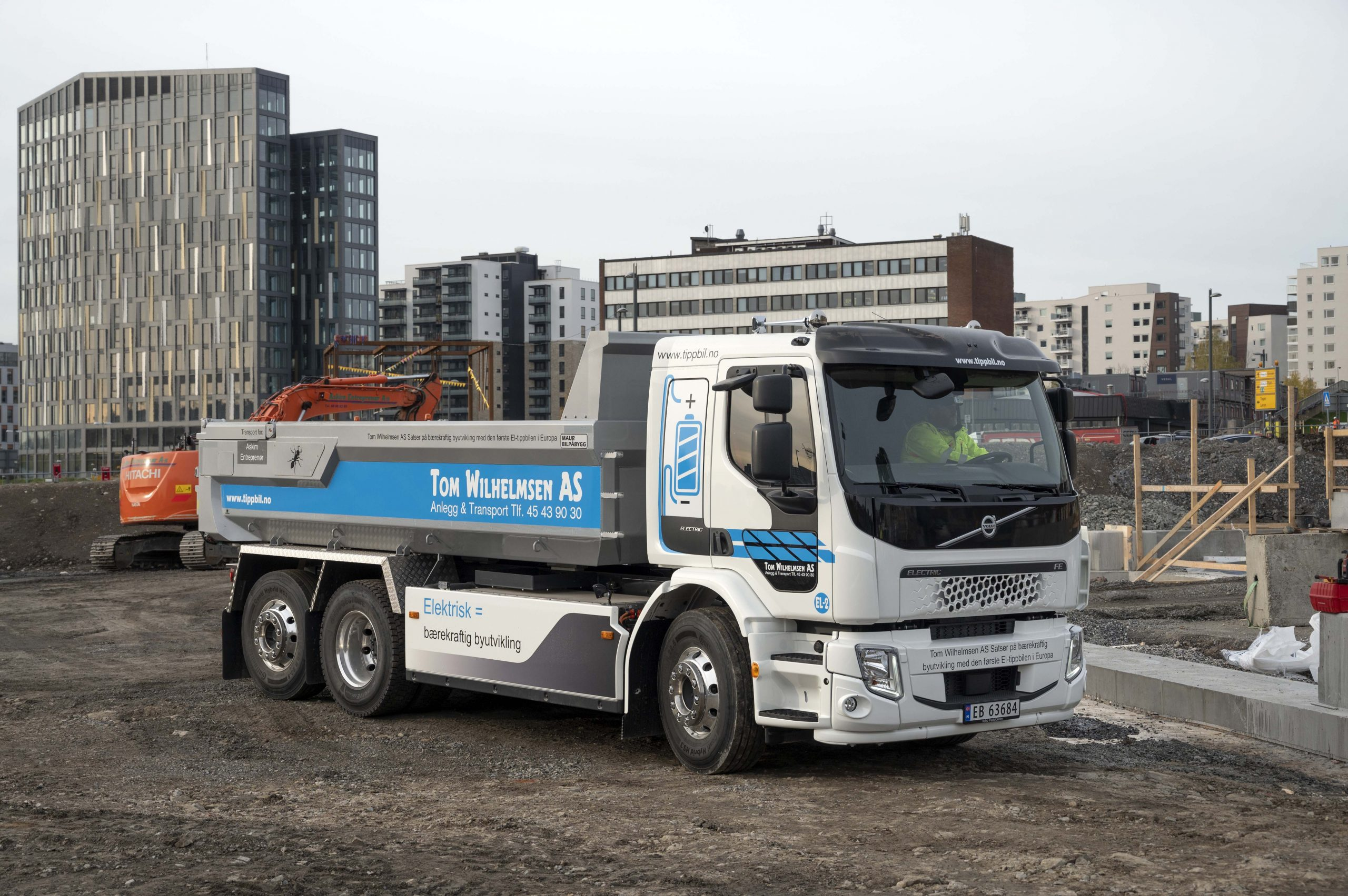 Volvo FE Electric. Foto: Espen Braata