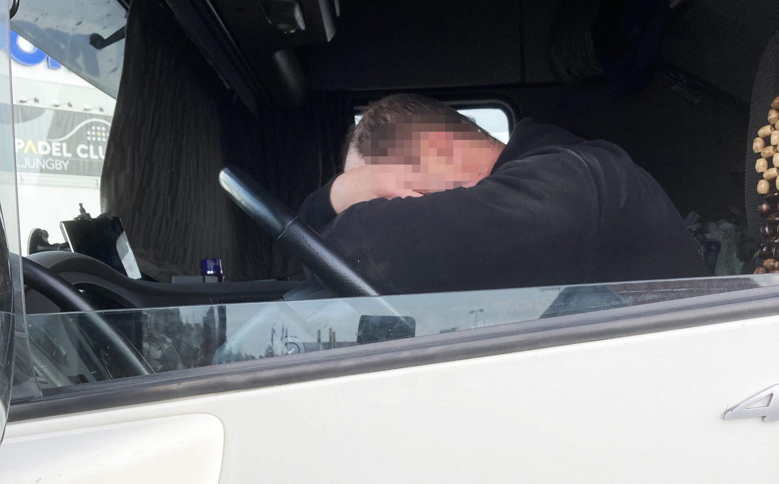 Vittnen upplevde förarens tillstånd vara sådant att fordonsnycklarna behövde tas omhand.