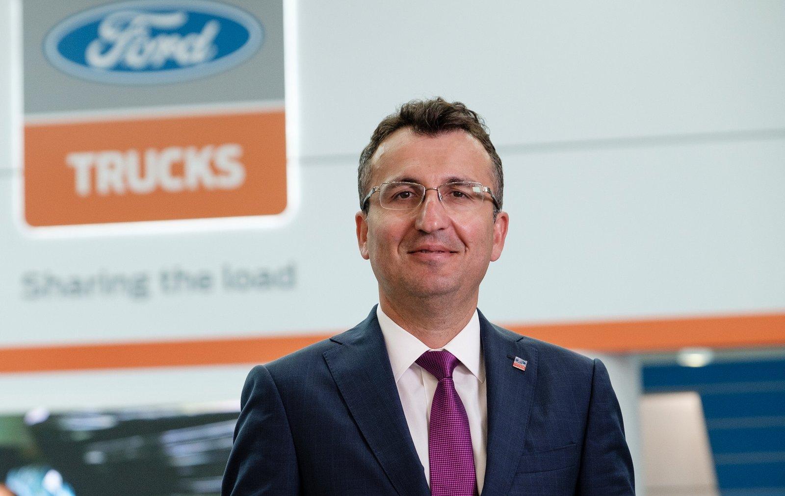 - Vi strävar efter att skapa ett starkt Ford Trucks i Europa, säger Serhan Turfan, vd Ford Trucks. Foto: Ford Trucks.